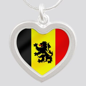 Belgian Lion Flag Necklaces