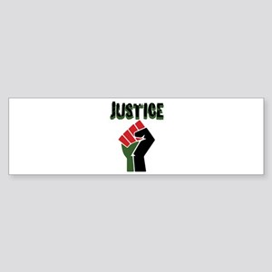 Justice Bumper Sticker