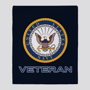 U.S. Navy Veteran Throw Blanket