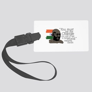 Be The Change Luggage Tag