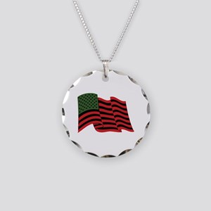 African American Flag Necklace