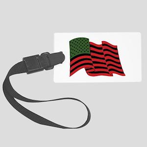 African American Flag Luggage Tag