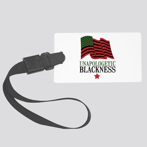 Unapologetic Blackness Luggage Tag