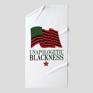 Unapologetic Blackness Beach Towel