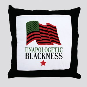 Unapologetic Blackness Throw Pillow