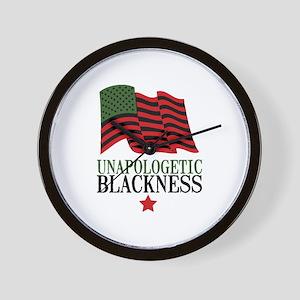 Unapologetic Blackness Wall Clock