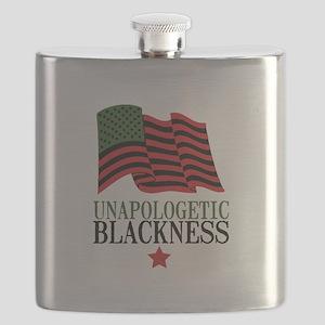 Unapologetic Blackness Flask