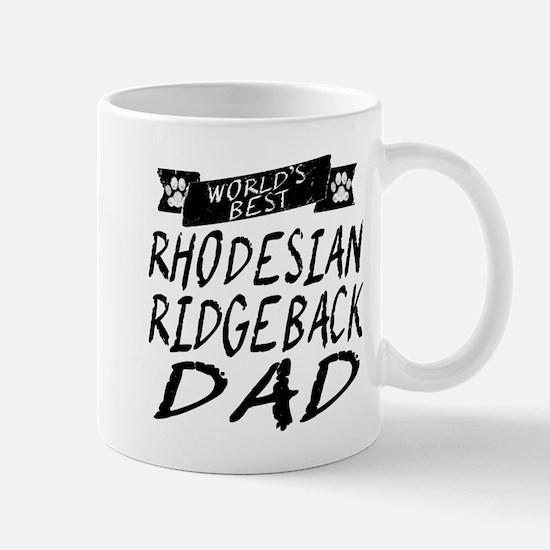 Worlds Best Rhodesian Ridgeback Dad Mugs