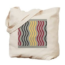 Cool Wave Pattern Tote Bag