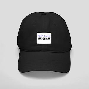 Worlds Greatest WATCHMAN Black Cap