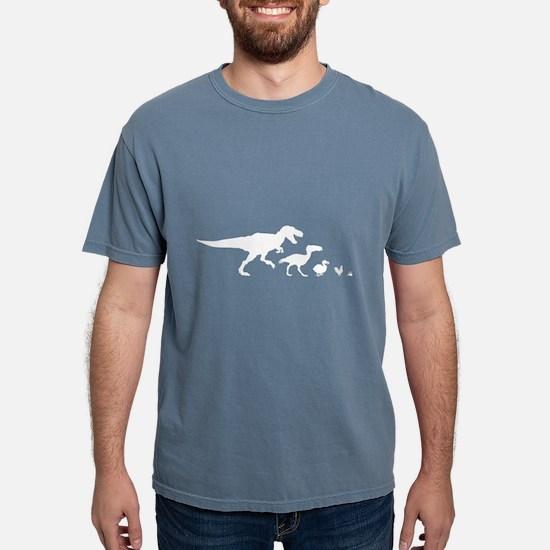 Dino Chicken White T-Shirt