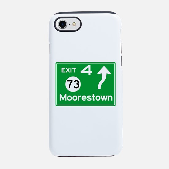NJTP Logo-free Exit 4 Moores iPhone 8/7 Tough Case