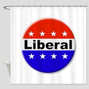 Liberal Shower Curtain