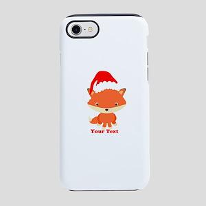 Christmas Santa Fox iPhone 8/7 Tough Case