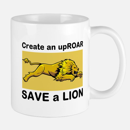 Lion Uproar Mugs