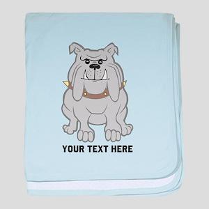 english bulldog grandma baby blankets cafepress