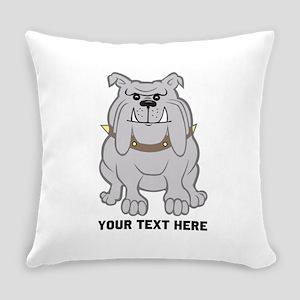 Bulldog personalized Everyday Pillow