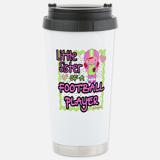 little sister of a foot Stainless Steel Travel Mug