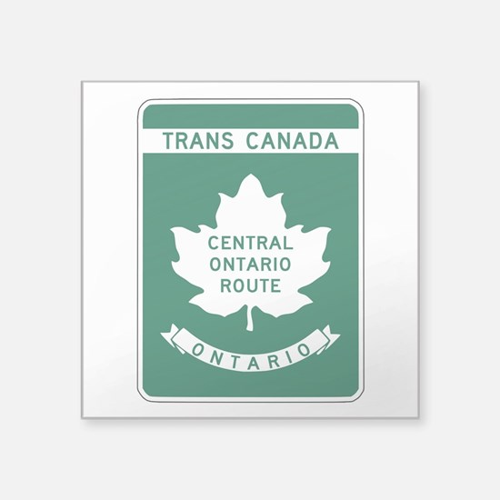 "Cute Ontario Square Sticker 3"" x 3"""