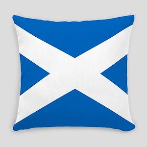 Scottish Flag Everyday Pillow