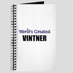 Worlds Greatest VINTNER Journal