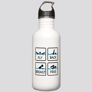 swimming Stainless Water Bottle 1.0L
