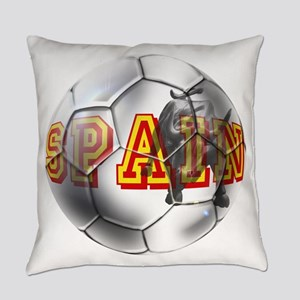 Spanish Soccer Ball Everyday Pillow