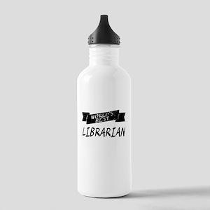 Worlds Best Librarian Water Bottle