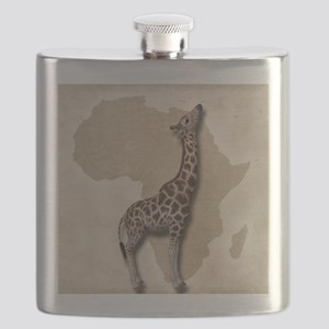 Out of Africa Giraffe Flask
