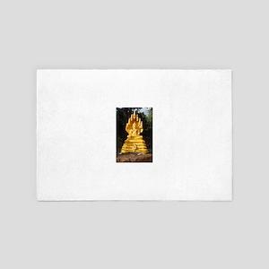 Golden buddha 4' x 6' Rug