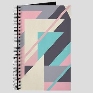 Sweet Retro Geometric Journal