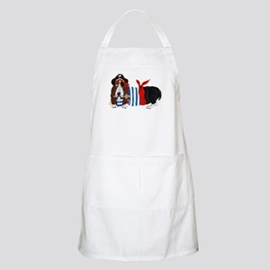 Basset Hound Pirate Apron