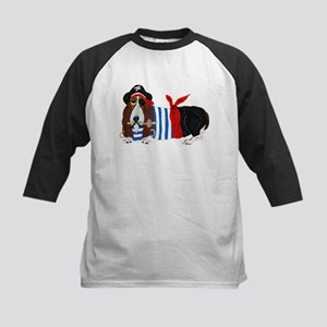 Basset Hound Pirate Baseball Jersey