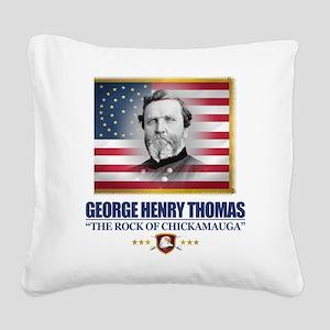 Thomas (C2) Square Canvas Pillow