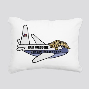 Trump Presidential Plane Rectangular Canvas Pillow
