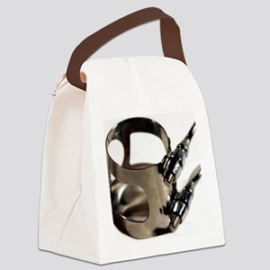 Ligature Canvas Lunch Bag