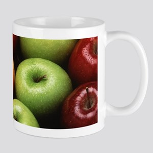 Various Types of Apples Mugs