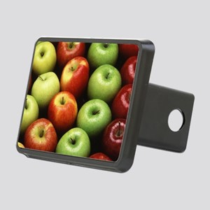 Various Types of Apples Rectangular Hitch Cover