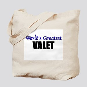 Worlds Greatest VALET Tote Bag