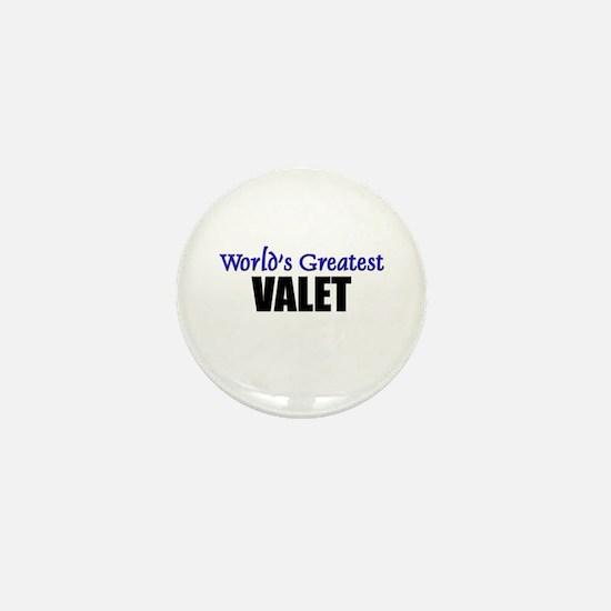 Worlds Greatest VALET Mini Button