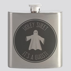 Holey Sheet It's A Ghost Flask