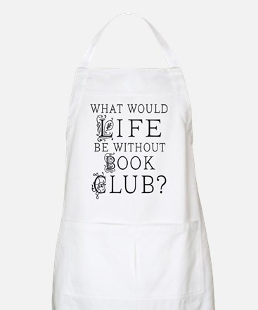 Book Club quote Apron