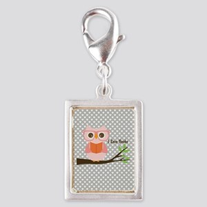 Cute Owl Reading Charms