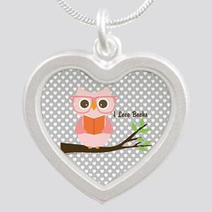 Cute Owl Reading Necklaces