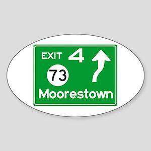 NJTP Logo-free Exit 4 Moorestown Sticker