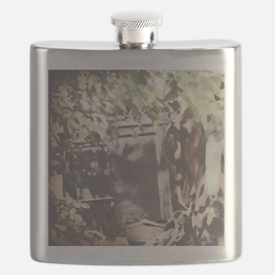 Cool Amish Flask