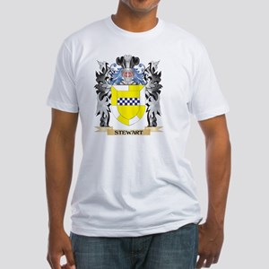 Stewart- Coat of Arms - Family Crest T-Shirt