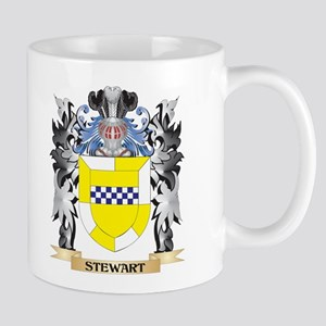 Stewart- Coat of Arms - Family Crest Mugs
