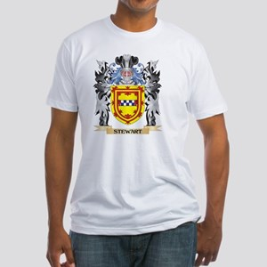 Stewart Coat of Arms - Family Crest T-Shirt