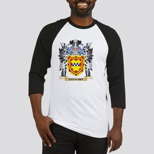 Stewart Coat of Arms - Family Cres Baseball Jersey